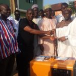 Bawumia gifts generator to Nkawkaw Central Mosque