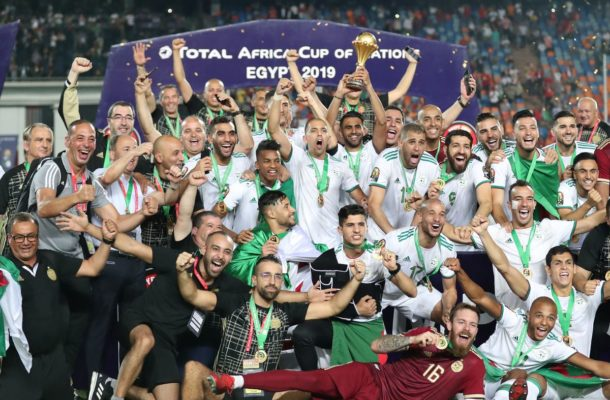 Algeria beat Senegal to end 29 years of Afcon drought