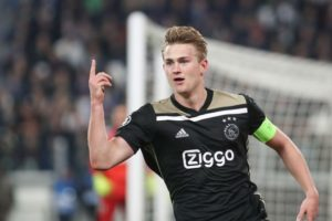 Juventus announce capture of Mathis De Ligt