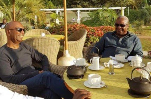 Mahama mourns 'good friend' Bob Collymore