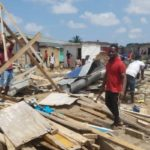 Thousands rendered homeless after TMA demolished 'Kiosk Estate' on Accra-Tema motorway