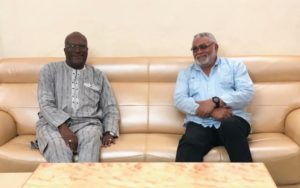Rawlings in B. Faso for 3-day working visit