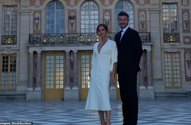 PHOTOS: Victoria and David Beckham celebrate 20th wedding anniversary at French palace