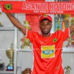 Kelvin Andoh joins Asante Kotoko on three-year deal