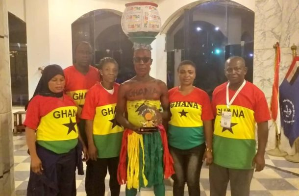 "2019 Africa Cup of Nations: Ghanaian wins ""Best Supporter"" award"
