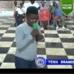 VIDEO: Obinim's son takes over prophesies in Church