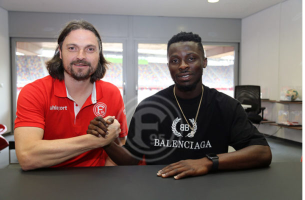 Ghana winger Nana Ampomah joins Fortuna Düsseldorf on three-year deal