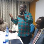 Freddie Blay meets with NPP USA Members in Ghana
