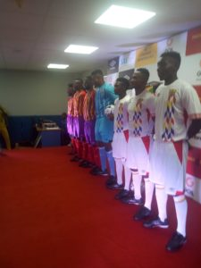 PHOTOS: Hearts of Oak unveil new Umbro Kits