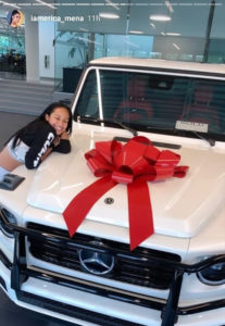 PHOTOS: Erica Mena gets new G-Wagon gift from Safaree Samuel after cheating scandal