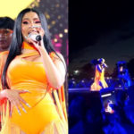 HILARIOUS VIDEO: Cardi B 'begs' for her wig she threw to a crowd during performance