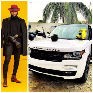 PHOTOS: Nigerian celebrity stylist Swanky Jerry acquires new Range Rover