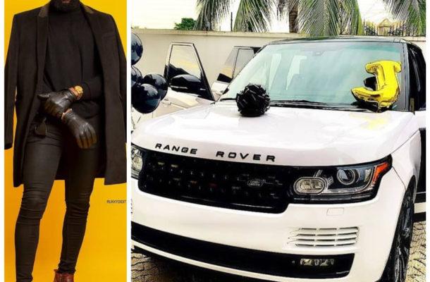 PHOTOS: Nigerian celebrity stylist Swanky Jerry acquires new Range Rover