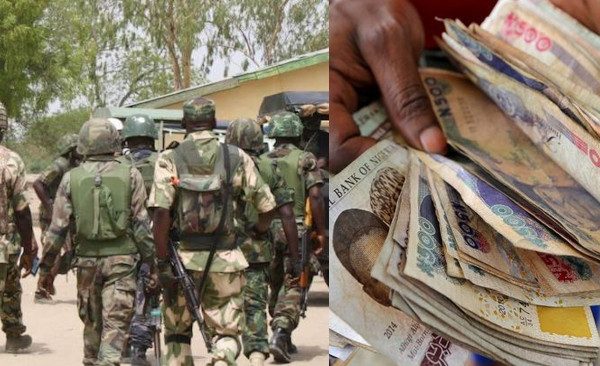 SHOCKER: Soldiers escorting VIP steal 'billions', desert army