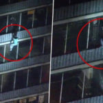 HEROIC: Man climbs 19-storey building to save his mother from fire