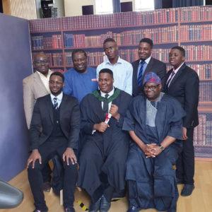PHOTOS: Dele Momodu's son graduates from Top UK University