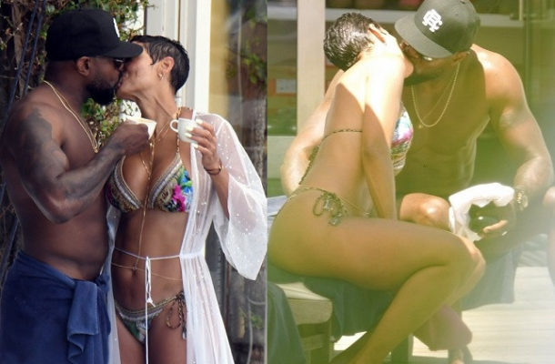 PHOTOS: Nicole Murphy caught kissing married movie director Antoine Fuqua in Italy