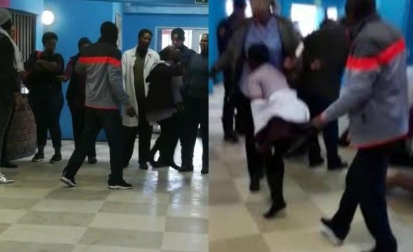 SHOCKING VIDEO: 14 primary school children faint after an alleged witchcraft attack