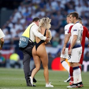 Champions League finals pitch invader arrested during Copa America final in Brazil