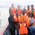 Zipline Ghana donates life jackets to fishermen, nurses at Afram Plains