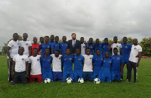Frankfurt City opens football academy in Tamale
