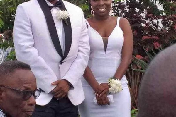 PHOTOS: Rapper D Cryme finally ties the knot?