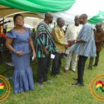 Ahafo Regional minister donates to the improvement of quality Healthcare