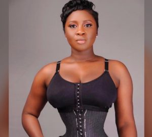 PHOTOS & VIDEOS: Princess Shyngle shooting waist trainer ad ?