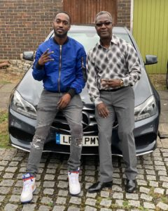 VIDEO: Ghanaian singer, Eugy official surprises father with brand new car