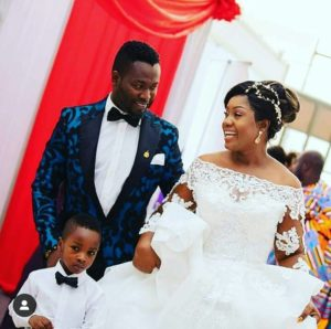 PHOTOS & VIDEOS: Actor Adjetey Anang and wife renew marriage vows