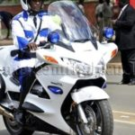 Ex-president Rawlings assists dispatch rider shot multiple times