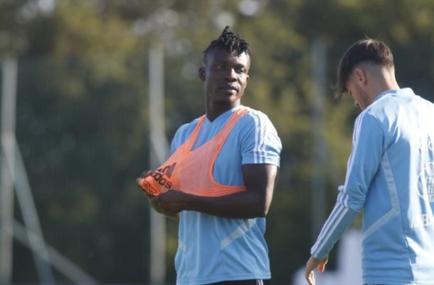 Joseph Adioo starts pre-season training with new club Celta Vigo