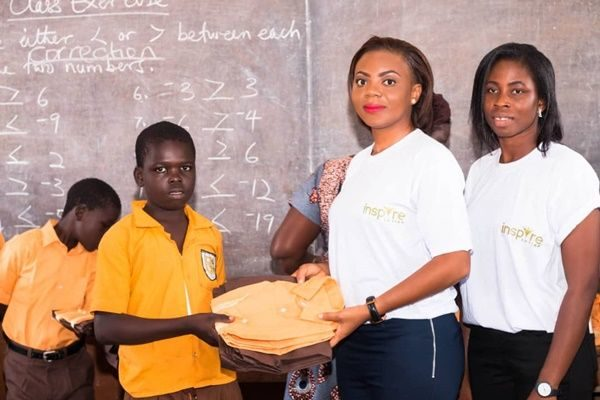 NGO supports Kanda basic school with uniforms