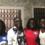 Freddie Blay hosts NPP loyal ladies at his residence