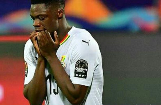 Caleb Ekuban begs Ghanaians for forgiveness after penalty miss