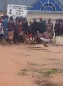 Video of chief allegedly slaughtering human is false - Police