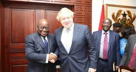 President Akufo-Addo congratulates new UK PM
