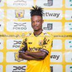AshantiGold sign defender Kwadwo Amoako from Eleven Wonders
