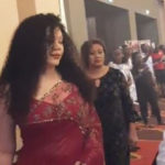 Fans slam Nadia Buari for wearing traditional Indian outfit to Miss Ghana finale