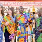Prestea Huni-Valley: Miss Ghana Foundation cut sod for Charity project