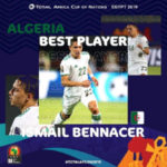 Algeria's Ismael Bennacer named best player of 2019 AFCON Group stage