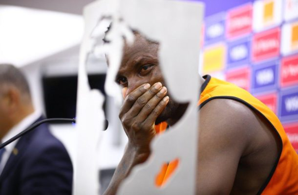 Wakaso breaks down during emotional interview after Black Stars AFCON exit