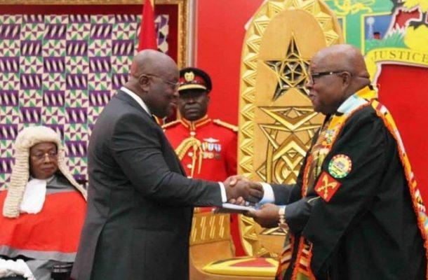 Akufo-Addo BLOCKS attempt to remove Prof. Mike Ocquaye