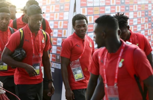 VIDEO: Black Stars arrive in town after 2019 AFCON disgrace