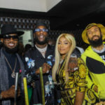 PHOTOS: Stefflon Don joins Burna Boy's grandparents at studded 28th birthday party