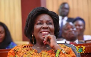'Her Excellency:' The Minister for Sanitation