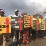 Nigerians protest rape, sexual abuse in the Church with #ChurchToo
