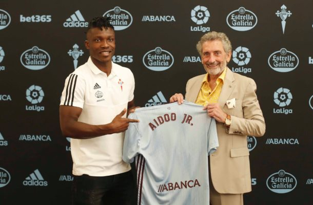 OFFICIAL: Ghanaian defender Joseph Aidoo joins Celta Vigo