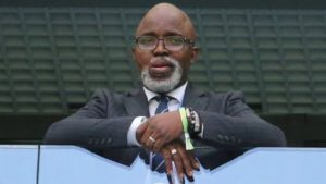 NFF Prez Amaju Pinnick replaced by Constant Omari as 1st Caf Vice