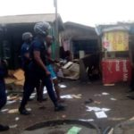 Police, slum dwellers clash turns bloody; 3 houses, 3 shops burnt